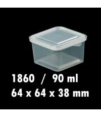 กล่องเซฟตี้ซิล+ฝาRW.1860 90ml.