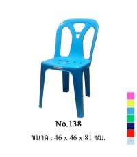 เก้าอี้พิงหลัง No.138 สีน้ำเงิน A
