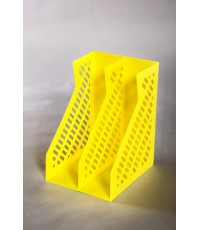 กล่องเอกสาร BF-2001/2 สีเหลือง