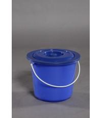 ถังน้ำ+ฝา 2.5 gl สีน้ำเงิน