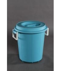 ถังน้ำ+ฝา 2012 สีฟ้า