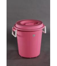 ถังน้ำ+ฝา 2012 สีชมพู