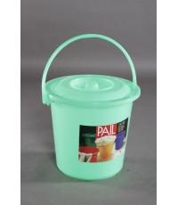 ถังน้ำ 17 Lt 4.5 gl สีเขียวใส