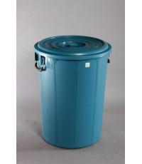 ถังน้ำ+ฝา 30 gl. สีน้ำเงิน P
