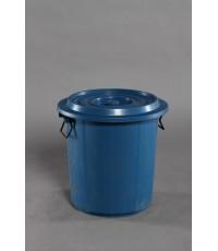 ถังน้ำ+ฝา 11 gl สีฟ้า VCP