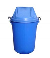 ถังขยะ+ฝาแกว่ง 19 gl สีน้ำเงิน