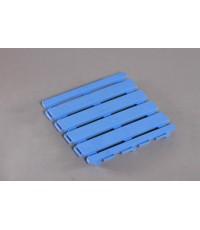 แผ่นรองพื้น 25x25 cm. สีน้ำเงิน