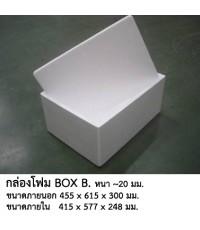 กล่องโฟมBox B 455x615x300mm.