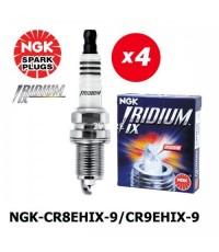 หัวเทียน NGK CR8EHIX-9 และ CR9EHIX-9 จาก NGK
