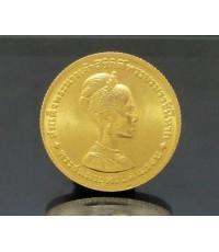 เหรียญทองคำ สมเด็จพระนางเจ้าสิริกิต์ พระชนมายุครบสามรอบ ปี 2511 หลังเหรียญ 300 บาท นน. 7.54 g