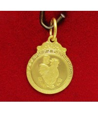 จี้ นักษัตร ปีระกา (ไก่) ทอง96.5 งานสวย น่าสะสม นน. 1.90 g