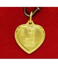 จี้ หัวใจ นักษัตร ปีขาล (เสือ) ทอง96.5 งานสวย น่าสะสม นน. 1.90 g