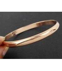 กำไล Asawa ทอง10K Pink gold ลายเกลี้ยง เปิดข้าง หลุดจำนำ สวยมาก นน. 11.01 g
