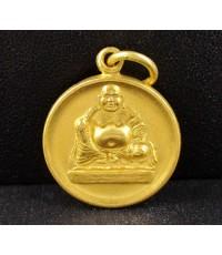 เหรียญทองคำ พระสังกัจจายน์ นำโชค คุ้มครอง ปลอดภัย งานนอก สวยน่าสะสม 11.23 g