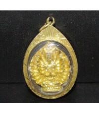 เจ้าแม่กวนอิม ปางพันมือ เลี่ยมทองเก่า นน. 14.85 g