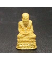 พระหลวงปู่ทวด ลอยองค์ เนื้อทองคำ สวยน่าเก็บสะสม นน. 2.46 g