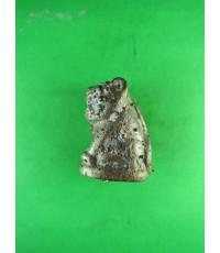 รูปหล่อโบราณเสือ ล.พ.หวล วัดชาวเหนือ ปี58 จ.ราชบุรี