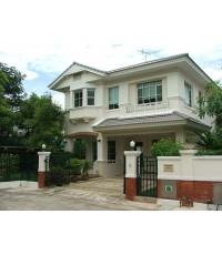 (ให้เช่าแล้ว) บ้านเช่ารังสิต / บ้านสวย ให้เช่า เฟอร์ครบ ม.มัณฑนา คลอง2  โครงการLandHou