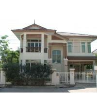 (ให้เช่าแล้ว) บ้านเช่ารามอินทรา / บ้านใหม่ ให้เช่า!! สง่างามดั่งบ้านคหบดีในอดีต หรูหราภูมิฐาน บางกอก