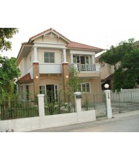 (ให้เช่าแล้ว) บ้านเช่าแจ้งวัฒนะ / บ้านเดี่ยวให้เช่า สวย พร้อมอยู่ หมู่บ้านชวนชื่น ใกล้ISB และอิมแพค