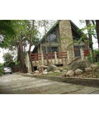 (บ้านเช่าไปแล้ว) บ้านเช่าศรีนครินทร์ / บ้านไม้ให้เช่า สวยสไตล์รีสอร์ท 200ตรว. เช่าทำธุรกิจได้ ทำเลดี