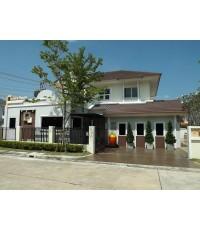 บ้านเช่ามีนบุรี/บ้านเดี่ยวสวยๆให้เช่าไม่แพง หลังใหญ่ 5 ห้องนอน ม.เพอร์เฟคพาร์ค ร่มเกล้า-มีนบุรี
