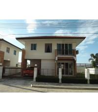 (บ้านเช่าไปแล้ว) บ้านเช่ารังสิตคลอง3 / บ้านเช่าราคาถูก สวยๆ ใหม่ๆ พร้อมอยู่ โครงการ Garden villa 5
