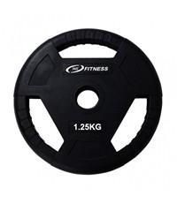 แผ่นน้ำหนักโอลิมปิกหุ้มยาง น้ำหนัก - 1.25KG/IR91057 1.25KG OB