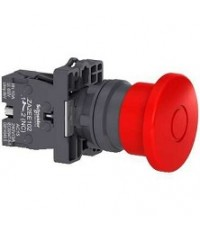 [V288] Schneider Electric XA2 สวิตซ์ปุ่มกด Ø22 มม. แบบพลาสติก XA2EA3311สีแดง ราคา 52 บาท