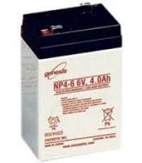 แบตเตอรี่แห้ง YUASA SLA BATTERY NP 4-6 6V 4.0Ah