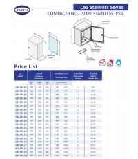 TAMCO รุ่น CBS-STL-06 IP55 ราคา 8,990 บาท