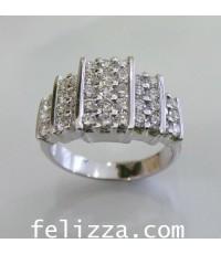แหวนเพชร RI00469-215 (HXSH)