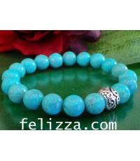 สร้อยข้อมือเทอร์ควอยซ์ (Turquoise) SB05-10 (ESFZX)