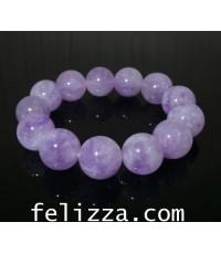 สร้อยข้อมือหินลาเวนเดอร์(Lavender) S18-40 (ESKAZ)