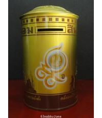 กระปุกออมสินที่ระลึก ๙๙ ปีธนาคารออมสิน สีทอง(จำหน่ายแล้ว สินค้าหมด)