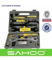 ชุดเครื่องมือซ่อมจักรยาน SAHOO 44 ชิ้น 21275