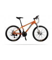 จักรยานเสือภูเขา Trinx M034 เฟรมเหล็ก 21 สปีด ล้อ 24 นิ้ว