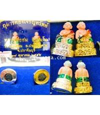 กุมารทองเจริญทรัพย์ แบบลงสี ลพ.สม ภิรธมุโม วัดบ้านด่าน อ.ประจันตคาม จ.ปราจีนบุรี