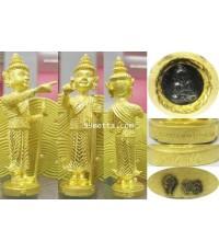 กุมารเทพบันดาล องค์บูชา สูง 3.5 นิ้ว กะหลั่ยทอง ครูบาพร วัดปู่ฮ่อ เชียงใหม่
