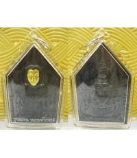 เหรียญขุนแผนนะหน้าทอง เนื้อสัมฤทธิ์ดำหน้าทอง รุ่นขุนแผนนะหน้าทอง ครูบาสุบิน สุเมธโส