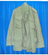 เสื้อ jacket M-65 มือสองสภาพดีมาก ของมีพร้อมส่ง