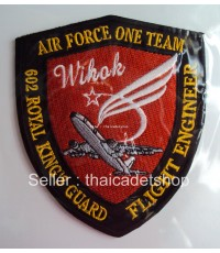 BOEING 737-800 RIDERS ROYAL THAI AIR FORCE ONE TEAM 602 ROYAL KING GUARD PATCH