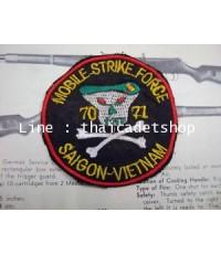 อาร์มผ้าสงครามเวียดนาม Vietnam War Patch