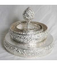 Silver plated mandala tibetan tibet buddha Tibetan Buddhism