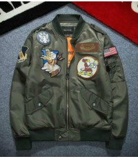 เสื้อ Men Air Jacket MA1 Army Flight Bomber