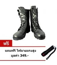 รองเท้าเดินป่า รองเท้าทหาร รองเท้าปีนเขา คลิกสั่งซื้อที่รูป
