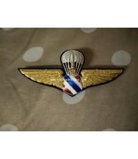 ปีกกระโดดร่ม ทอ.Parachute WING Royal Thai Air Force Badge RTAF Insignia Collectible Militaria