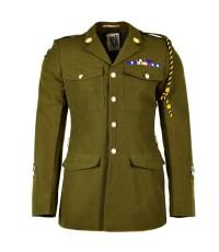 เสื้อทหารอังกฤษ British army uniform Olive Khaki Formal jacket OD military มือสองสภาพดีมาก