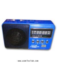 ลำโพงไฮเทคทรงวิทยุ WS-239