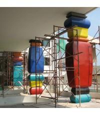 งานไฟเบอร์กลาส โครงการ NAVIO HUA-HIN